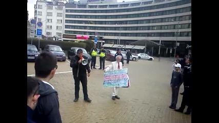 Протест - София 25.03.2012