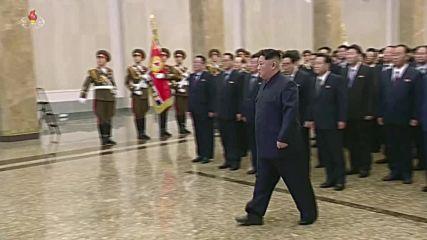 North Korea: Kim Jong-un commemorates 7th anniversary of Kim Jong-il's death