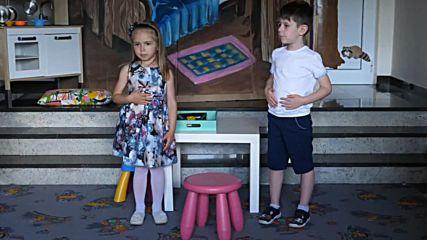 Празник на Английския език в детската градина - 3-та група