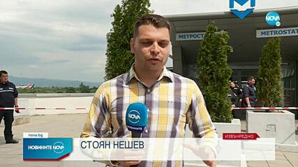 """Стрелба в метрото на """"Летище София"""", има жертва"""