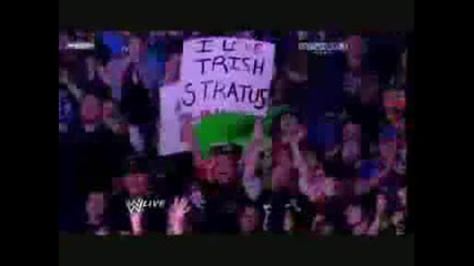 John Cena And Trish Stratus Vs Glamarella Part 1