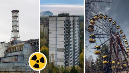Разходка в Чернобил по въздух! Вижте новите уникални кадри!
