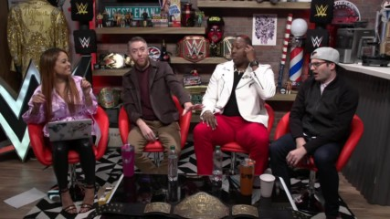 WWE's The Bump streams live tomorrow morning at 10 a.m. ET