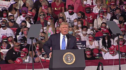 USA: Trump attacks 'furthest left' Kamala Harris in 'Great American Comeback'