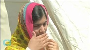 Malala Visits Jordan Camp, Says 'stingy' World Must Step up Aid to Syria Refugees