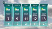 Прогноза за времето на NOVA NEWS (19.01.2021 - 14:00)