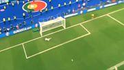 гол на Eder Portugal vs France 1-0 (euro 2016) Final *[hd]*