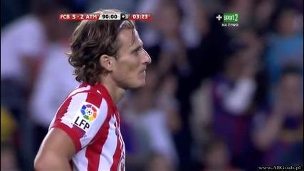 Fc Barcelona vs Atletico Madrid - 5 - 2 - Messi