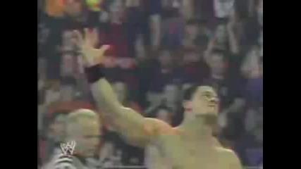 John Cena vs Chris Jericho Summerslam 2005 Part 2