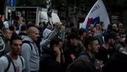 Serbia: LGBTQ+ parade held in Belgrade with its opponents burning Pride flag