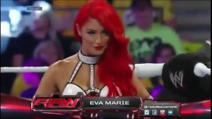 Eva Marie Vs. Aj Lee | Raw