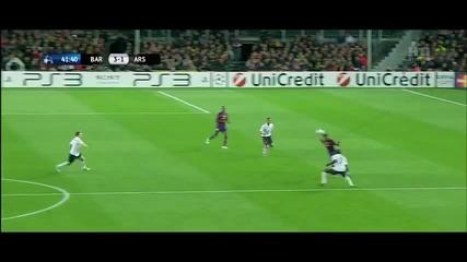 Меси 4 - 1 Арсенал - невероятно видео