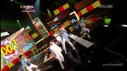 (hd) Vixx - Super hero ~ Music Bank (01.06.2012)