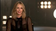 A Gorgeous Charlize Theron Chats About 'Mad Max: Fury Road'