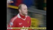 """Два гола на Рууни донесоха победата на """"Юнайтед"""" с 3:1 над """"Астън Вила"""" в """"българското дерби"""""""