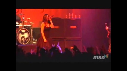(part 6/7) Evanescence - Live In Japan 2007 (превод)