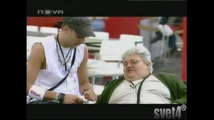 Баба Пусува да ти Еба В Гъза Кльощавия , ей Уйо 100 смях баба вили