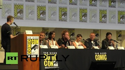 USA: Ryan Reynolds presents highly anticipated Deadpool at Comic-Con