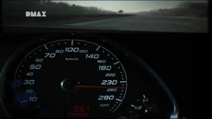 Неземно ускорение от Audi Rs6r 730hp