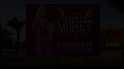 "Franky Monet poised for ""World Premiere"": WWE NXT. May 11, 2021"