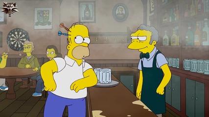 Семейство Симпсън С20 Е14 - Хоумър и Дядо отварят пъб в Ирландия бг аудио