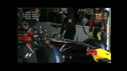 F1 Китай 2011 - квалификация част3