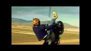 Motorcycle Stunt (the Islander)