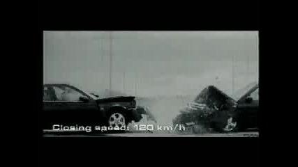 Челна Катастрофа На Saab 9 - 3