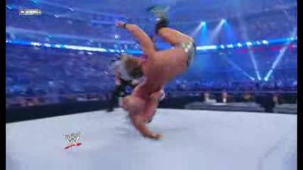 Wrestlemania 25 Cris Jerico vs Wwe Legends 1/2 (hq)