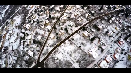 "DJI дрон - ""Панорама над снежна София"" - видео на photocamera.bg"