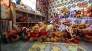 Най - голямата колекция от играчки Мечо Пух в света - 9000 бр.
