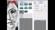 Молив Ефект за картина/изображение [ Photoshop Cs3, Урок за начинаещи! ]