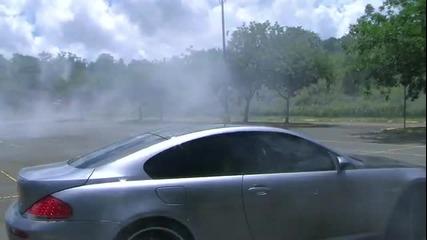 Тества гумите дали могат да му издържат на бурноут .;d
