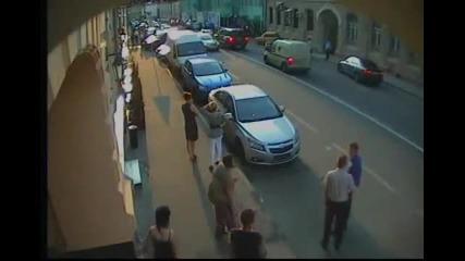 Катастрофа с Nissan Gt-r в Москва