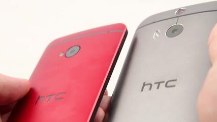 Старият HTC One (m7) Vs HTC One (m8)