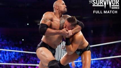 The Rock & John Cena vs. R-Truth & The Miz: Survivor Series 2011 (Full Match - WWE Network Exclusive)