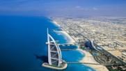 Как изглежда Дубай погледнат от самолет