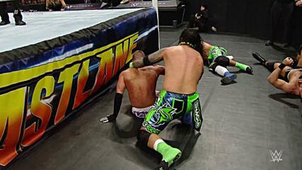The Usos vs. Cesaro & Tyson Kidd – WWE Tag Team Title Match: WWE Fastlane 2015 (Full Match)