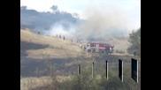 Продължава борбата с пожарите в страната