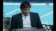 Раул напусна Реал Мадрид със сълзи на очите
