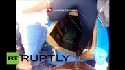 Italy: Hundreds of migrants intercepted by coast guard in Mediterranean Sea