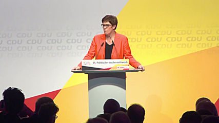 Germany: AKK slams AfD for 'tolerating far-right radicals and Nazis within their ranks'