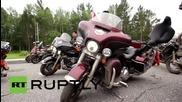 Russia: Beijing-Baikal motocross gang make it 3,500km in two weeks