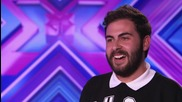 Andrea Faustini sings Jackson 5's Who' Lovin You - Audition Week 1 - The X Factor Uk 2014