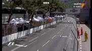 Формула 1 2009 - Гп на Монако - Стартът част от състезанието