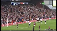 West Hem 2 - 3 Liverpool First goal by Torres