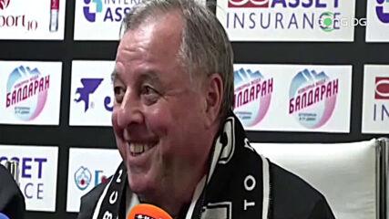 Тарханов: Нивото на футбола в България е по-високо от предния ми престой тук