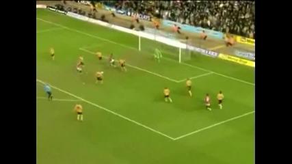 06.03.10 Уулвърхемптън 0 : 1 Ман.юнайтед - Wolves 0 : 1 Manchester United - всички важни моменти