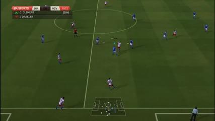 Fifa 14 Schalke 04 Еп 1 Първи мач