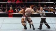 Alexander Rusev vs Sheamus (united states championship) - Wwe Raw 10.11.2014